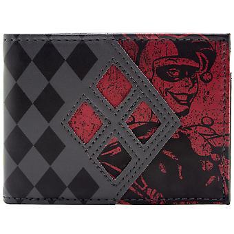 DC Comics Batman Harley Quinn ID & Karte Bi-Fold Geldbörse