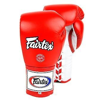 Fairtex Lace-Up Boxing Gloves