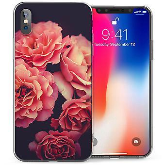 iPhonegeval X rozen TPU Gel