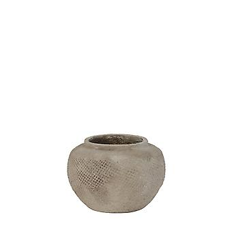 Light & Living Pot Deco Ø27,5x19 Cm VERTAS Ceramics Cement