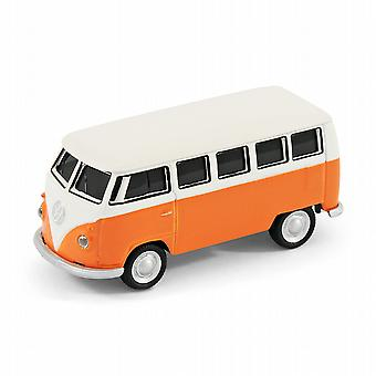 VW Camper Van-Computer USB Memory-Stick-16Gb - Orange