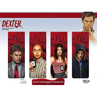 Dexter Magnetic Bookmark Set A