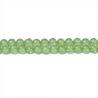 Strand 120+ Green Peridot 3mm Plain Round Beads CB31344-2