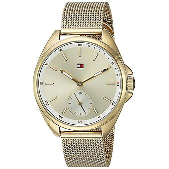 Tommy Hilfiger Gold Tone Stainless Steel Ladies Watch 1781757