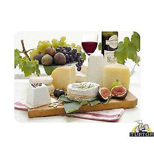 Premium Large Glass Enjoy Cheese Design Worktop Saver Protector