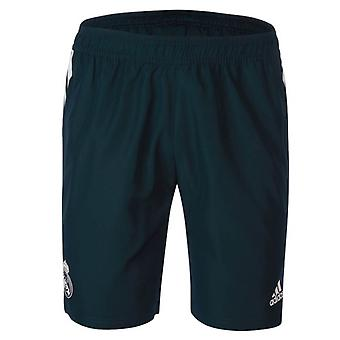 2018-2019 Real Madrid Adidas Woven Shorts (dunkelgrau)
