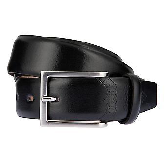 LLOYD Men's belt belts men's belts leather belt black 2599