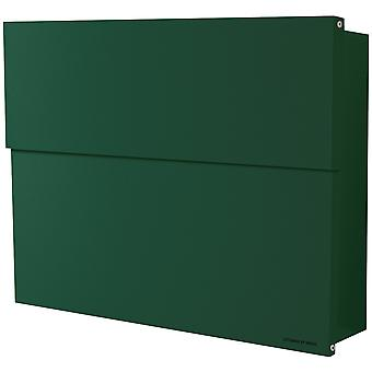 RADIUS letterbox Letterman XXL 2 dark green with concealed compartment of newspaper 562o