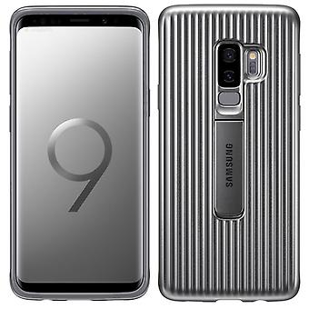 Samsung protective standing cover EF RG965CSEGWW for Galaxy S9 plus G965F bag cover case silver