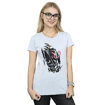 Verwonder u vrouwen Venom borst Burst T-Shirt