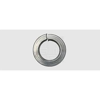 SWG Split Lock ring binnen diameter: 4,1 mm M4 DIN 127 roestvrijstaal a2 100 PC (s)