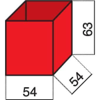 Hünersdorff Assortment case insert (L x W x H) 54 x 54 x 63 mm No. of compartments: 1