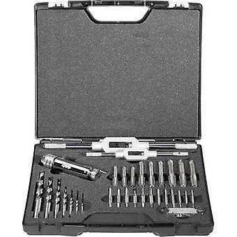 Exact 70551 Hand tap set 32-piece metric Right hand cutting DIN 352 HSS 1 Set