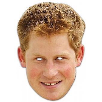 Union Jack porter Prince Harry masque