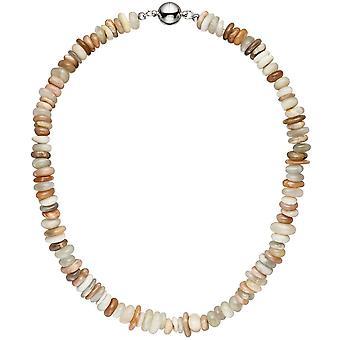 Necklace chain Sonnenstein 45 cm Sunstone necklace chain gemstone necklace