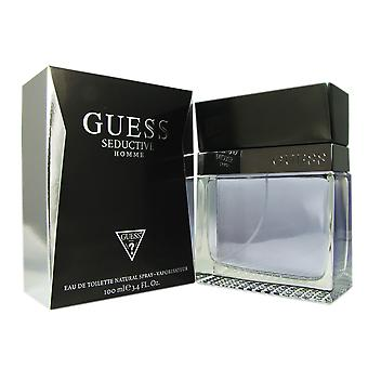 Guess Seductive pour homme 3.4 oz Eau de Toilette Spray