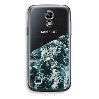 Samsung Galaxy S4 Mini Transparent Case (Soft) - Ocean Wave