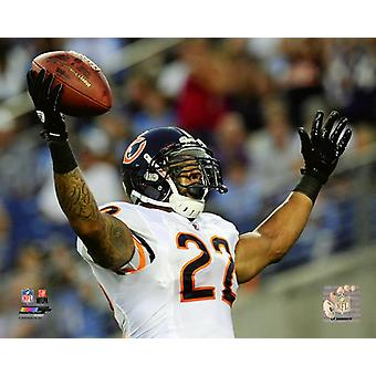 Matt Forte 2011 Action Photo Print