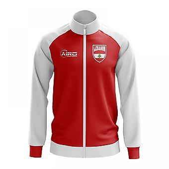 Libanon konceptet fotboll Track Jacket (röd)
