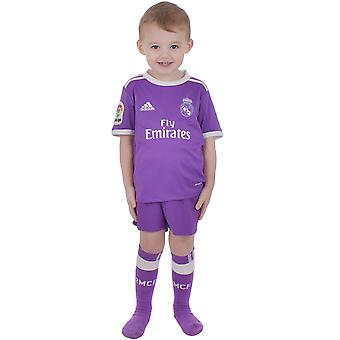 Adidas Performance Real Madrid embora 16/17 Junior Boys futebol Mini Kit Replica