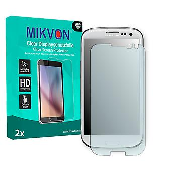 Samsung Galaxy S3 Screen Protector - Mikvon Clear (Retail Package with accessories) (reduced foil)