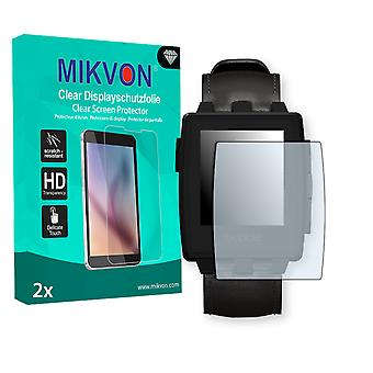 Pebble Steel Screen Protector - Mikvon Clear (Retail Package with accessories)