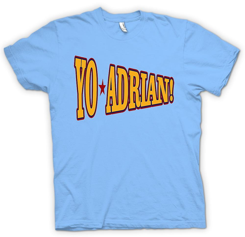 Mens t-skjorte-Rocky Balboa Yo Adrian - Funny