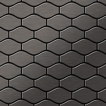 Metal mosaik Titanium LEGERING Karma-Ti-SB