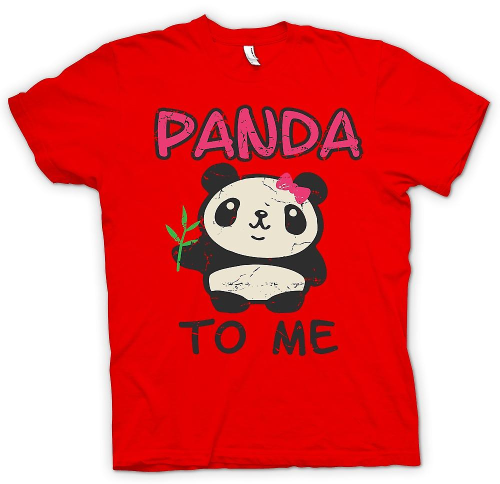 Mens T-shirt - Panda To Me - Funny Slogan