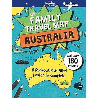 Min familj resa karta - Australien Lonely Planet - 9781787013209 bok
