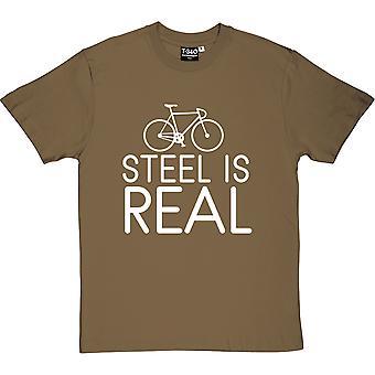 El acero es camiseta de verdaderos hombres
