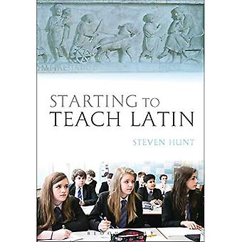 Beginnend um Latein zu unterrichten