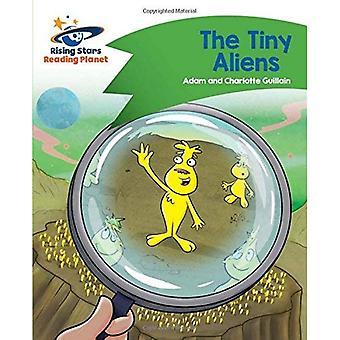 Lezing planeet - de kleine Aliens - groen: Komeet Street Kids (Rising Stars planeet lezen)