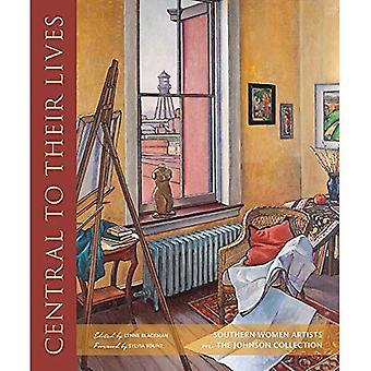 Centralt för deras liv: södra kvinnliga konstnärer i samlingen Johnson