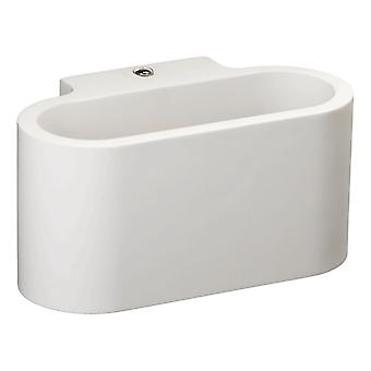 Glasberg - White Crescent Single Wall Light 499021801