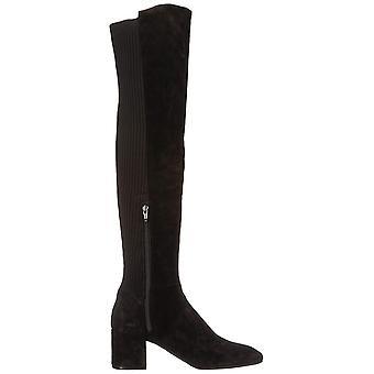 Kenneth Cole New York Womens Eryc cuir Square Toe au-dessus du genou bottes de mode