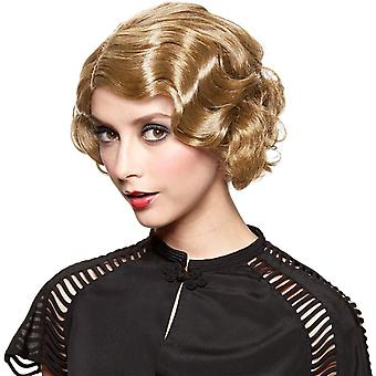 Golden Blonde Wig For Gatsby Girl