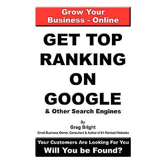 トップ Google とブライト ・ グレッグによって他の検索エンジンのランキングを取得します。