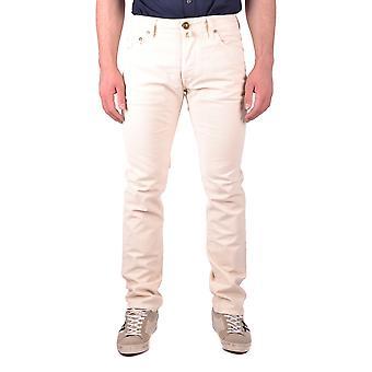 Jacob Cohen Beige Cotton Jeans