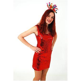 Costumes femme paillettes robe princesse parti