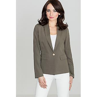 Lenitif ladies jacket olive green