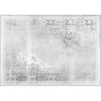 Rugs -Mineheart - Kashan Remix Landscape Rug in White