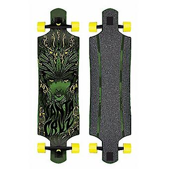 Longboard Santa Cruz longboard completo 'Weed diosa' Drop Thru, 10 x 40