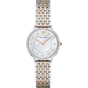 Emporio Armani damskie damskie nadgarstka zegarek ze stali nierdzewnej AR2508