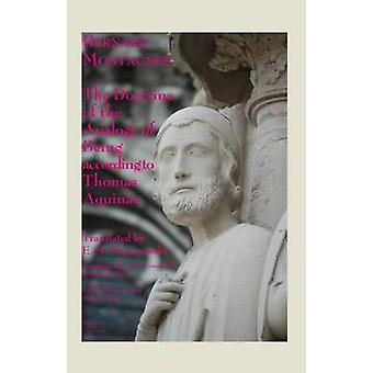 The Doctrine of the Analogy of Being according to Saint Thomas Aquina