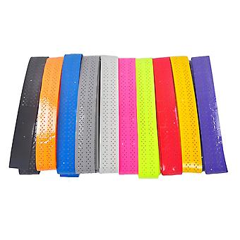 Nuevo anti slip perforado tenis/bádminton Overgrip 18pcs