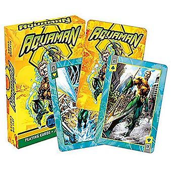 Aquaman Comics Playing Cards