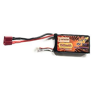 1500mAh 7.4V 45C 2 s RC Lipo Batterie Harttasche mit Dean T Stecker für RC Modell Boot LKW Buggy RC Auto LKW RC Hobby