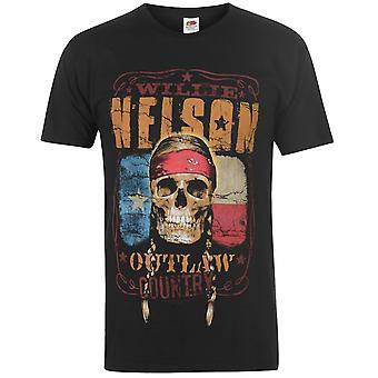 Officiel Hommes Nelson T Shirt Crew Neck T-Shirt Tee Top