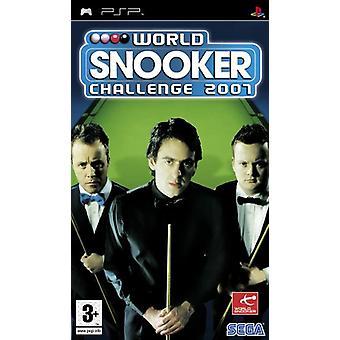 World Snooker Challenge 2007 (PSP) - Usine scellée
